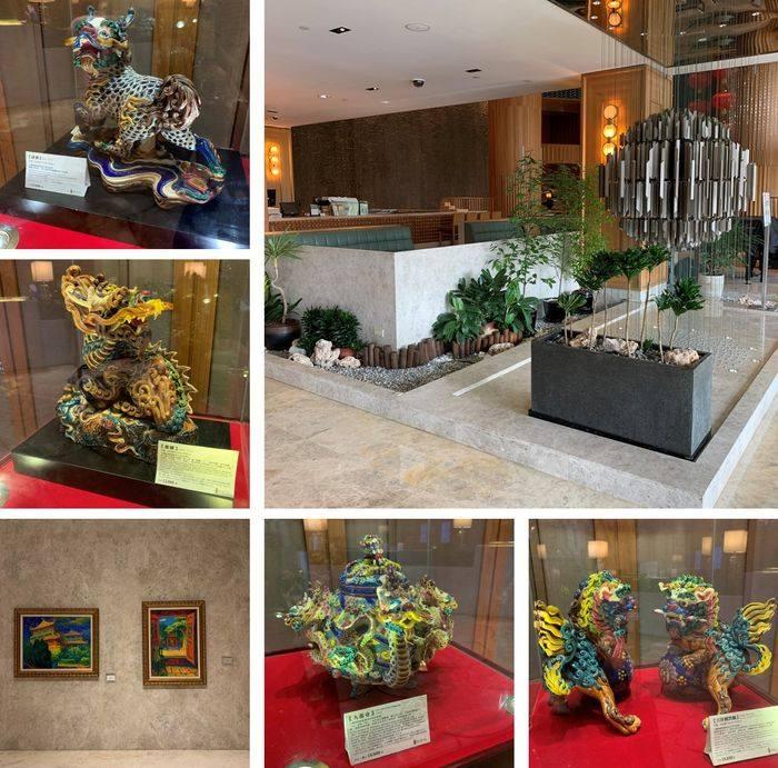 台南香格里拉飯店大廳藝術品