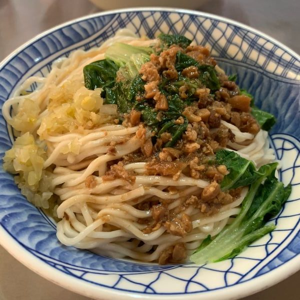 台南北區徐家酸菜麵店乾麵