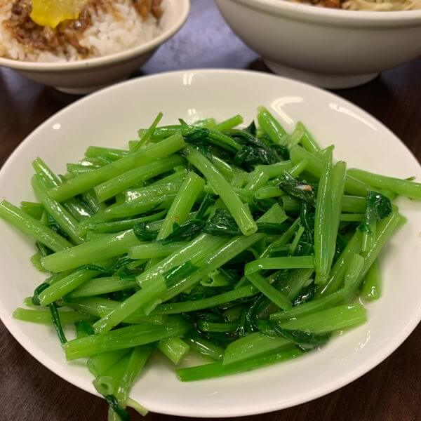 [新北板橋] 二姐麵擔空心菜