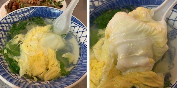 徐家酸菜麵蛋花湯