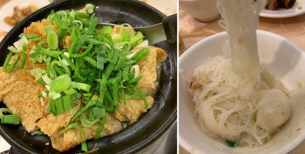 全家福客家菜館竹北館。小鮮魚米粉鍋