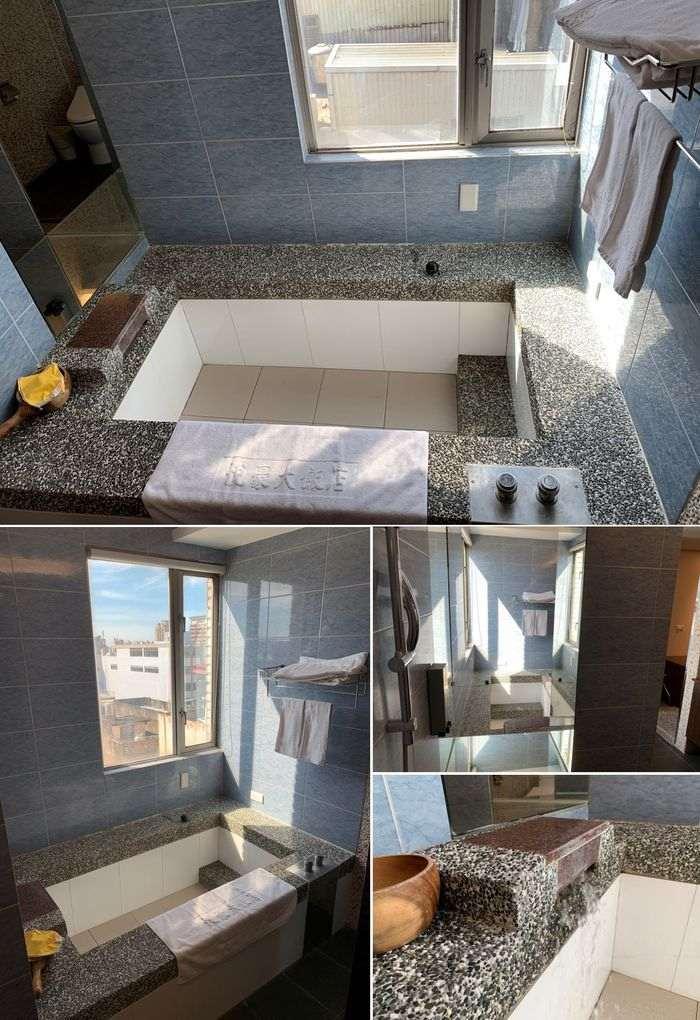 悅豪大飯店新竹館。超大浴缸