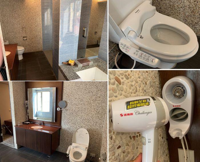 悅豪大飯店新竹館。免治馬桶