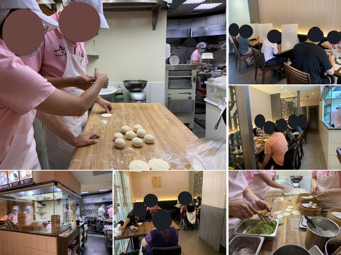 [中永和美食] 五草車中華麵食館永和店。內用區域