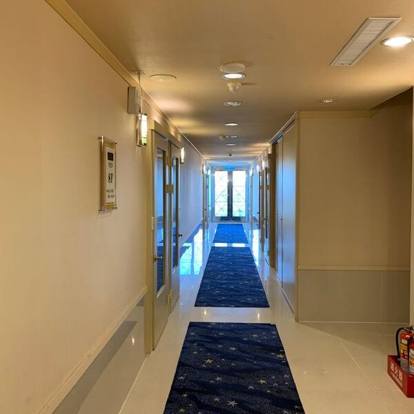 [台南住宿] 康橋民生館。安平區中西區住宿推薦。走廊