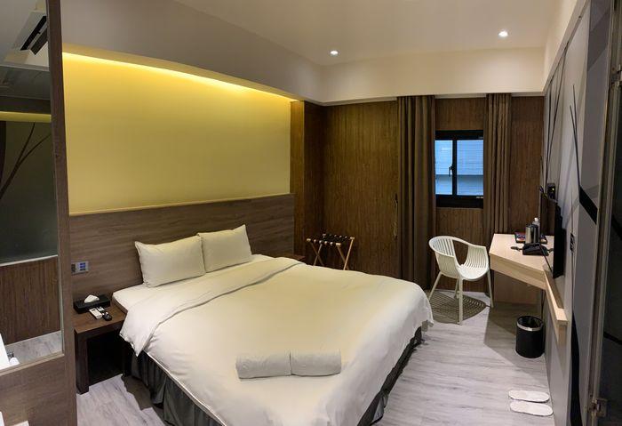 [礁溪住宿] 福岡6號溫泉飯店。房間