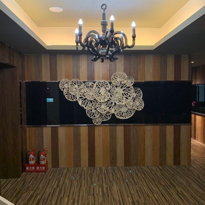 [礁溪住宿] 福岡6號溫泉飯店。三樓出電梯