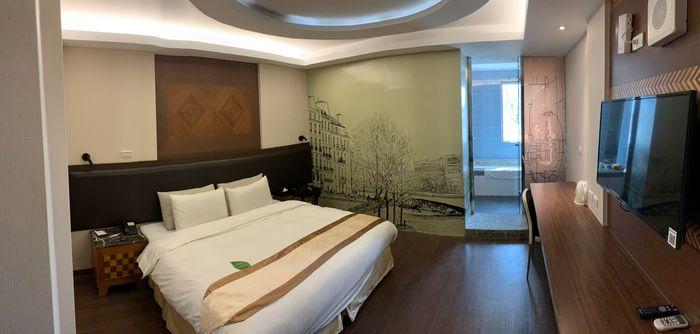 悅豪大飯店新竹館。房間