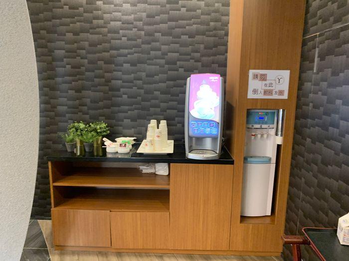 悅豪大飯店新竹館。1F飲品區