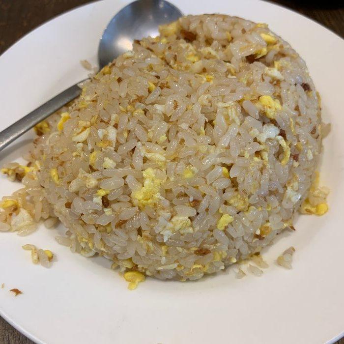 [中永和美食] 五草車中華麵食館永和店。蝦醬蛋炒飯