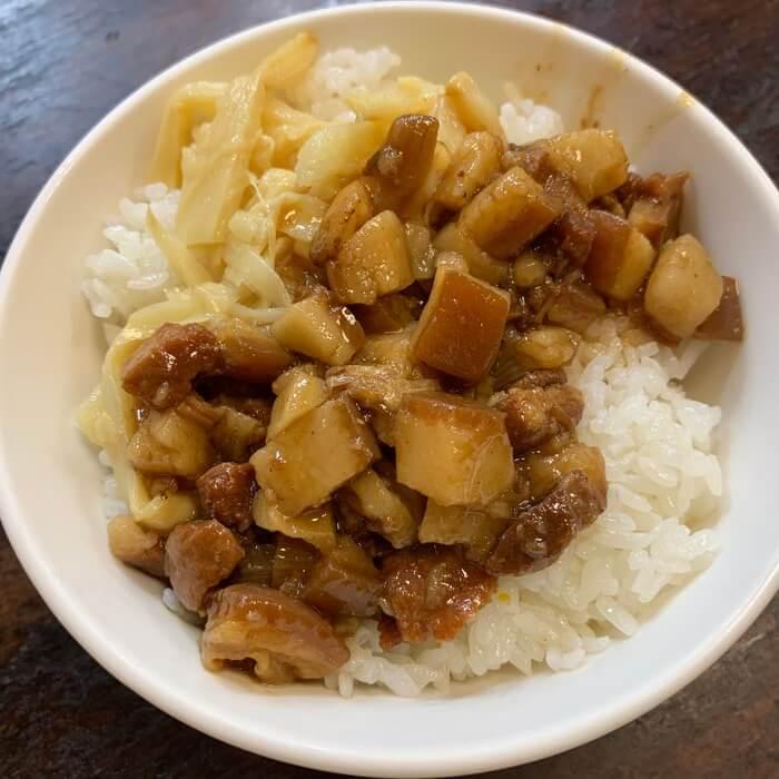 [新竹美食] 阿明滷肉飯,滷肉飯大