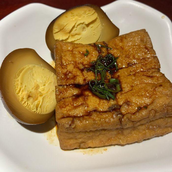 [台北美食] 大稻埕魯肉飯。魯鴨蛋&油豆腐
