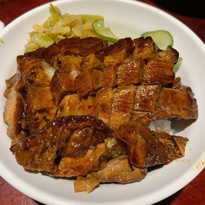 [台北美食] 大稻埕魯肉飯。腿庫飯