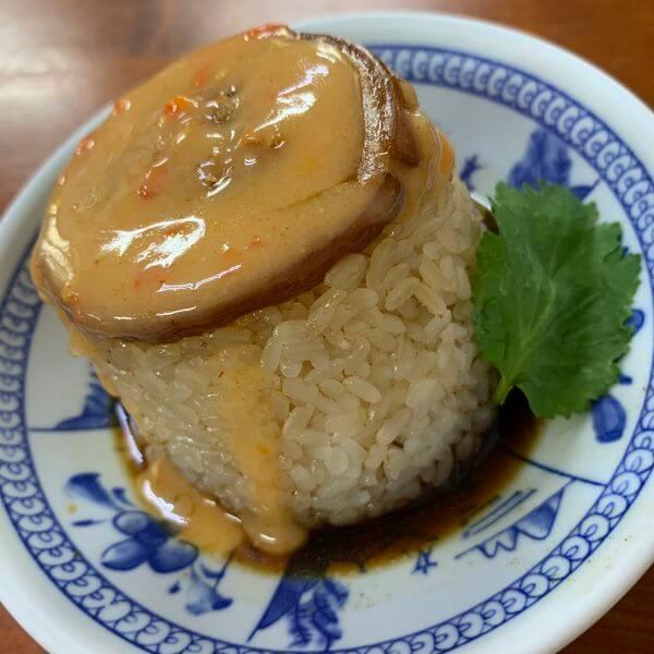 [台中美食] 王牌清水天使光環米糕。歐疼最愛梧棲小吃。米糕加辣辣