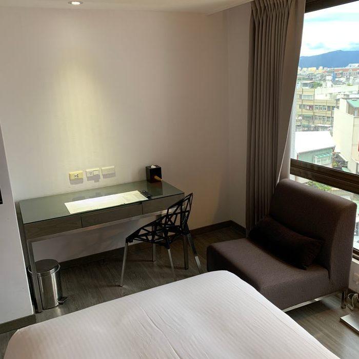 [花蓮住宿] 力麗華美達安可酒店住宿體驗心得。房間內部