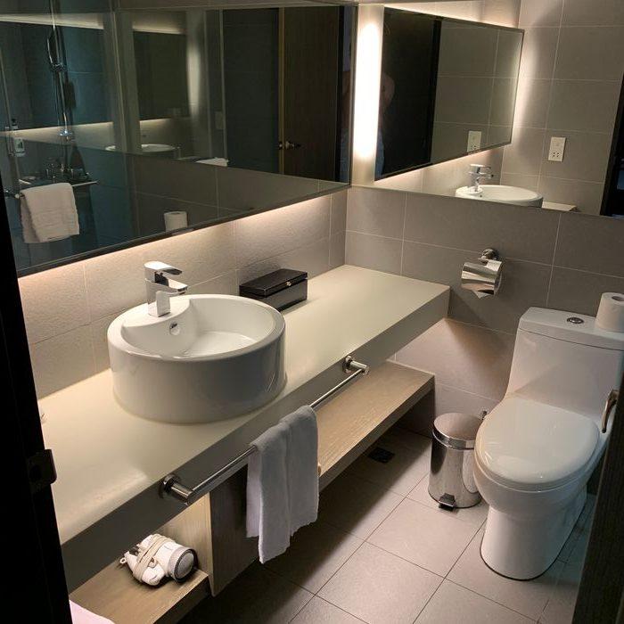 [花蓮住宿] 力麗華美達安可酒店住宿體驗心得。房間衛浴