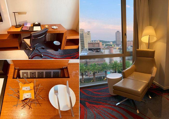 新竹芙洛麗大飯店/貴妃椅,辦公桌,迎賓小點