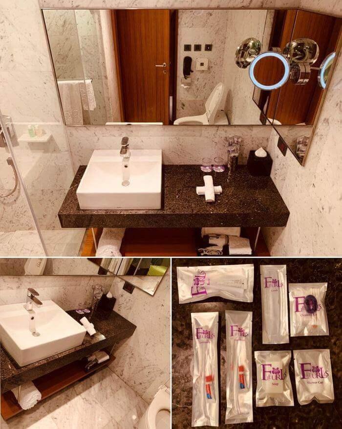 新竹芙洛麗大飯店/迷戀客房浴室