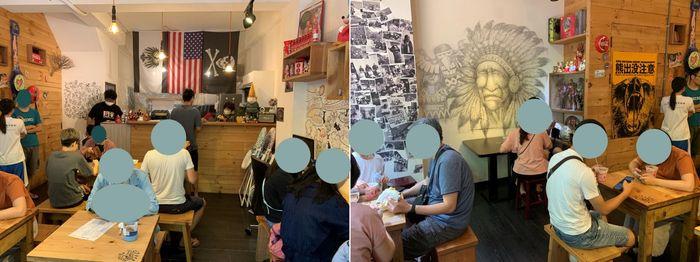 [竹北早午餐] 餓霸Brunch俗胖手作蛋餅。內用區