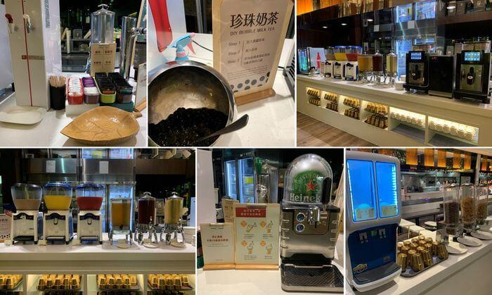 新竹芙洛麗大飯店/飲料區,珍珠奶茶