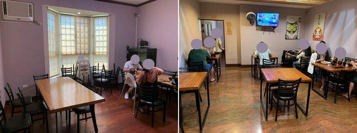 [竹北美食]樂陽食堂光明三路店。內用二樓