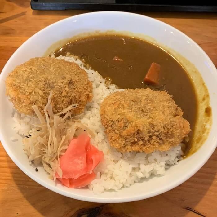 竹北美食/樂陽食堂光明三路店/炸漢堡排咖哩飯