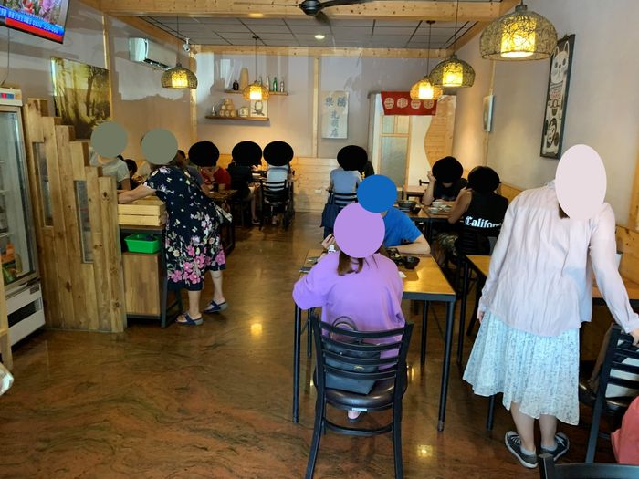 [竹北美食]樂陽食堂光明三路店。內用一樓