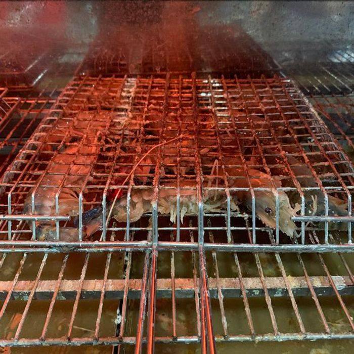 [桃園釣蝦] 桃園瀧泰釣蝦場。烤蝦蝦