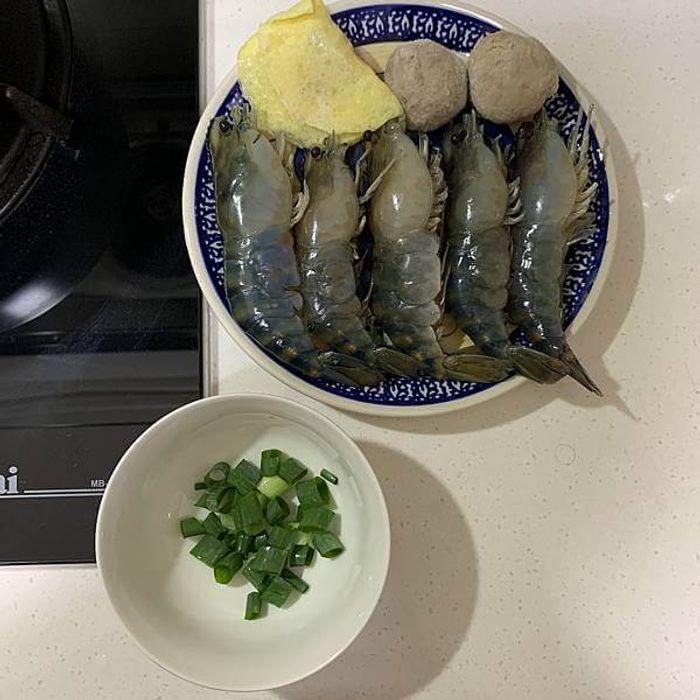 新竹竹北新泰和釣蝦場。新竹竹北釣蝦推薦。辣乾麵
