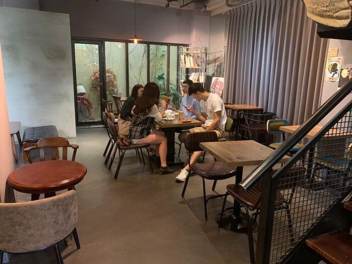 新竹竹北二街咖啡/內用環境