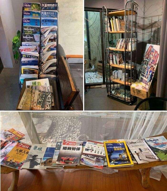新竹竹北二街咖啡/閱讀書本區