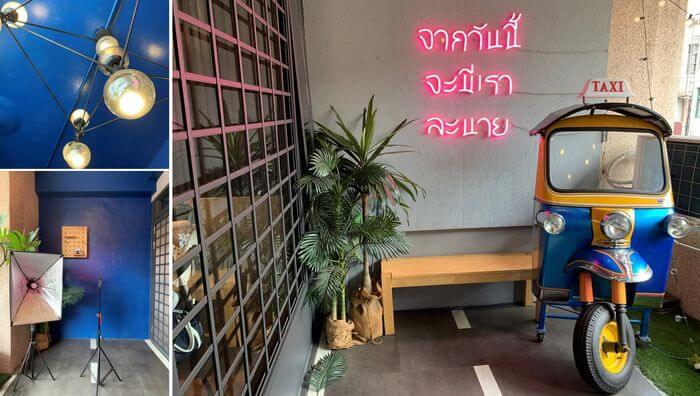 新竹竹北泰式異國料理/505THAI泰式定食/二樓網美拍照區