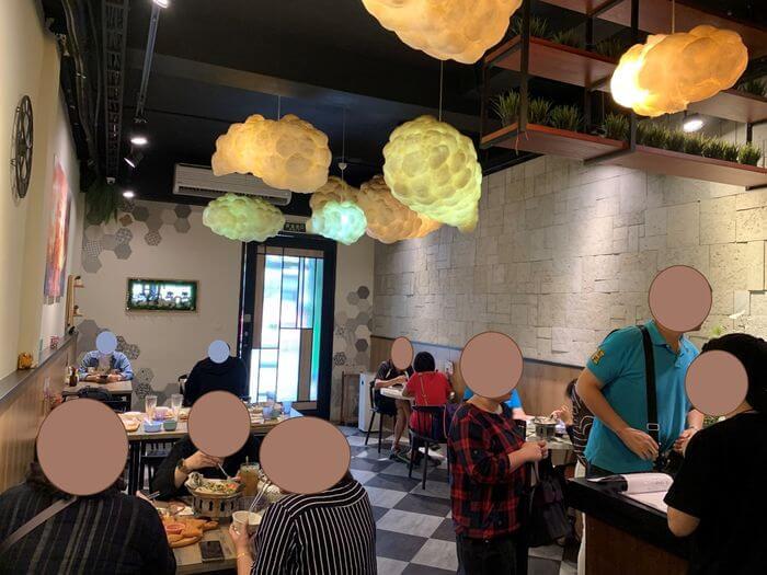 新竹竹北泰式異國料理/505THAI泰式定食/內用區域