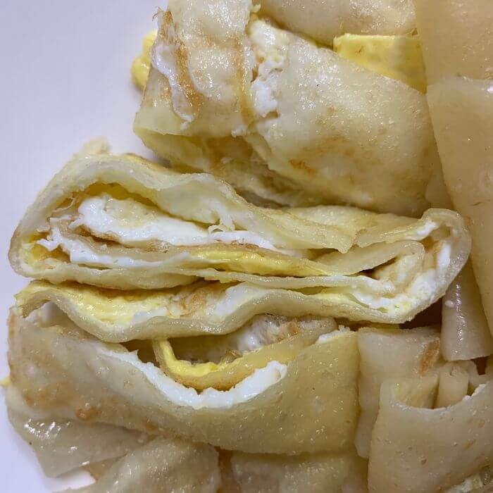 新竹阿婆早餐麵店/十八尖山新竹高中附近美食早餐午餐推薦/美味的背後藏著令人動容的堅毅故事/蛋餅egg cake