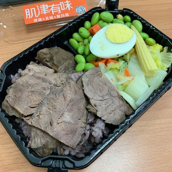 新竹健康餐肌津有味香滷牛腱肉