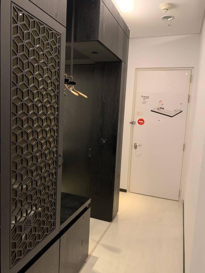 台南東區住宿/老爺行旅The Place Tainan/台南住宿飯店酒店推薦/設計風格結合在地元素飯店房間內部