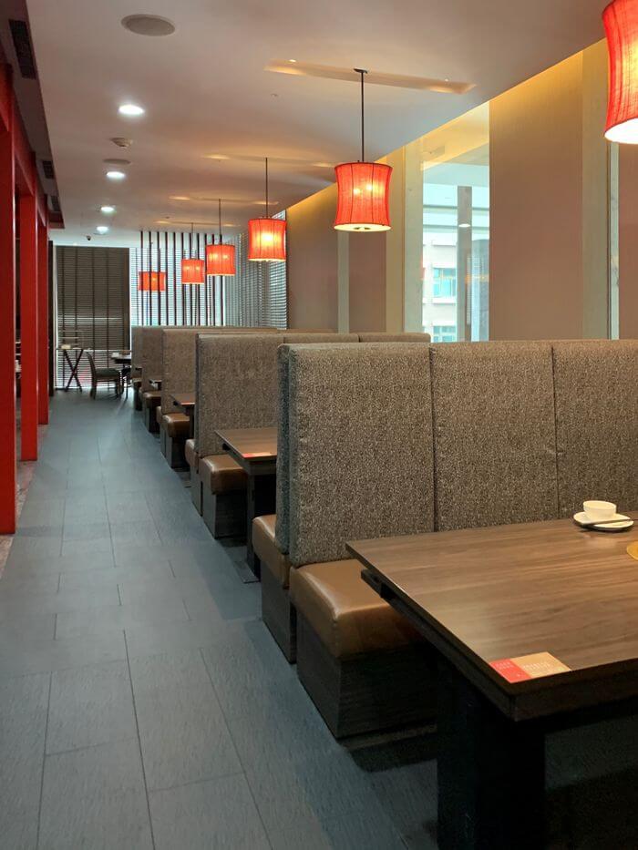 新竹鴛鴦鍋火鍋吃到飽推薦/銅話鍋物/芙洛麗大飯店二樓餐廳內用環境