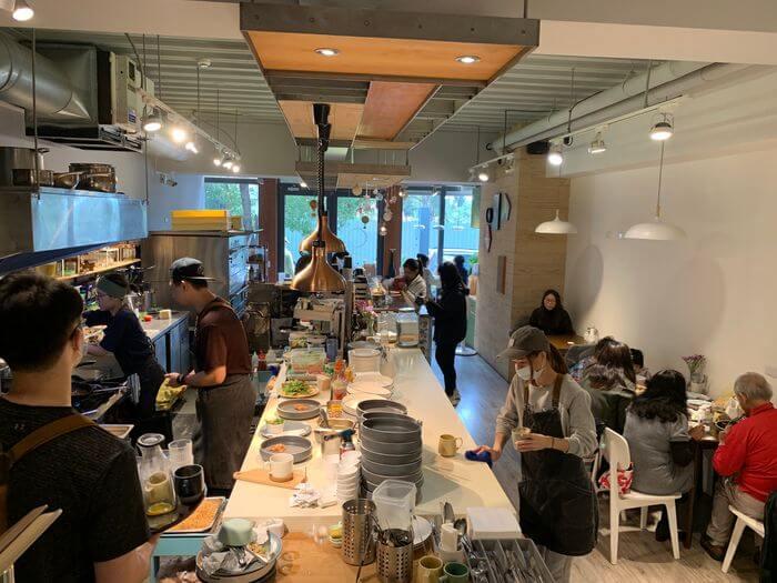 新竹竹北早午餐推薦/二十四分之一早午餐手作麵包/一樓店面
