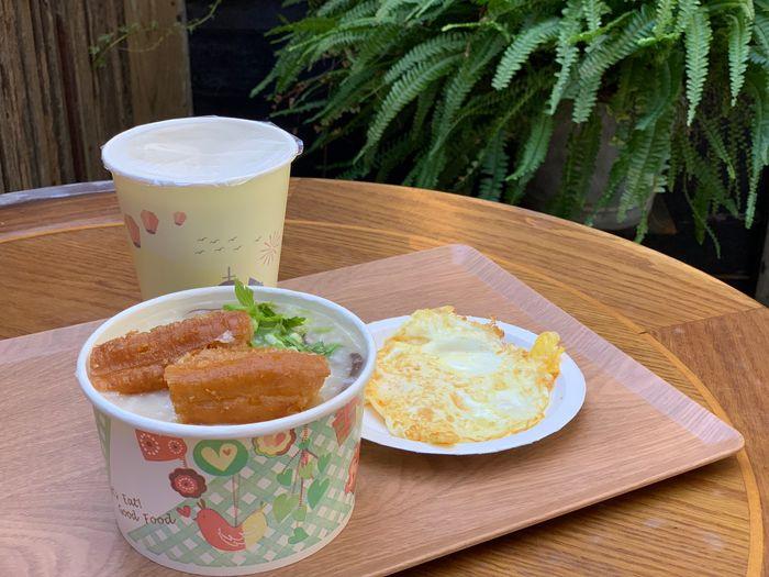 Kurashi/新竹竹北IG熱門早午餐推薦/古早味阿嬤鹹粥超好吃 ~
