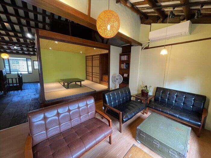 新竹北埔老街老屋咖啡廳/二樓內用座位