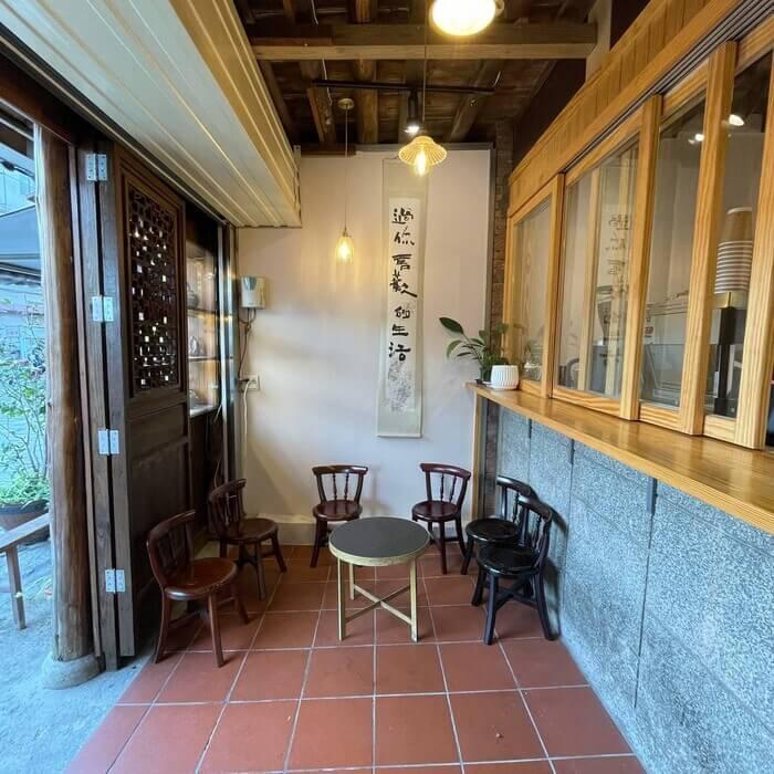 新竹北埔老街老屋咖啡廳/店面