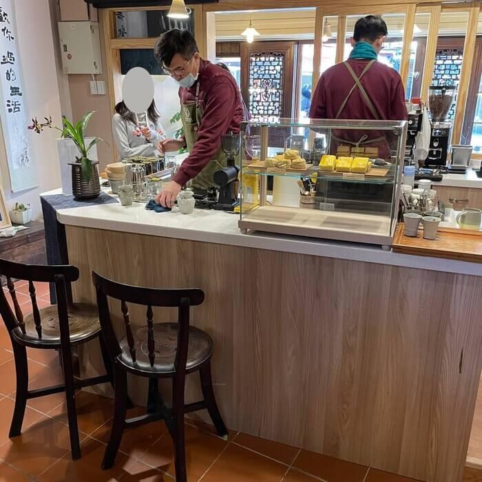 新竹北埔老街老屋咖啡廳/吧檯