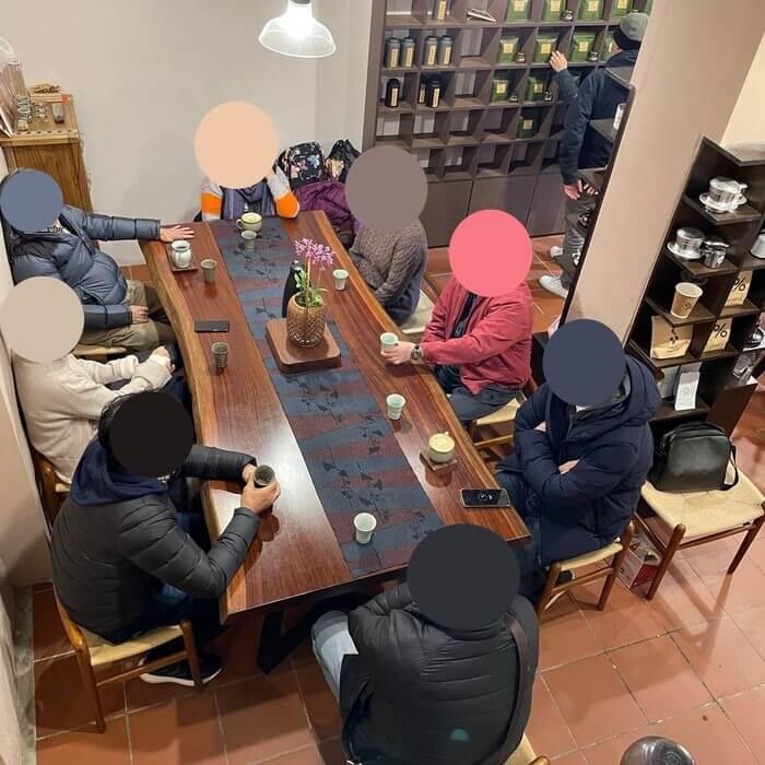 新竹北埔老街老屋咖啡廳/一樓內用區