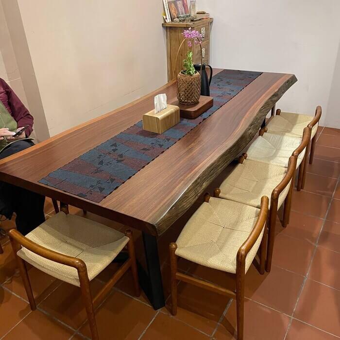 新竹北埔老街老屋咖啡廳/一樓座位