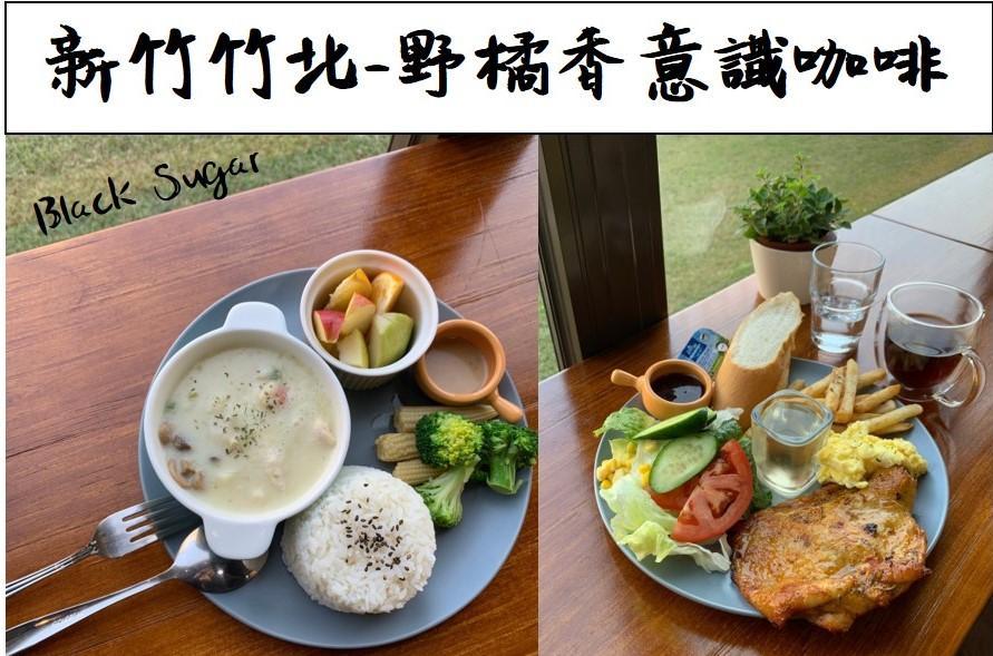 [新竹竹北早午餐]野橘香意識咖啡/下午茶推薦/菜單營業時間地址