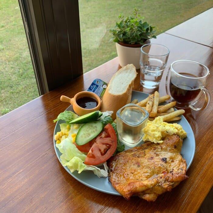 [新竹竹北早午餐]野橘香意識咖啡/下午茶推薦/香料烤雞腿