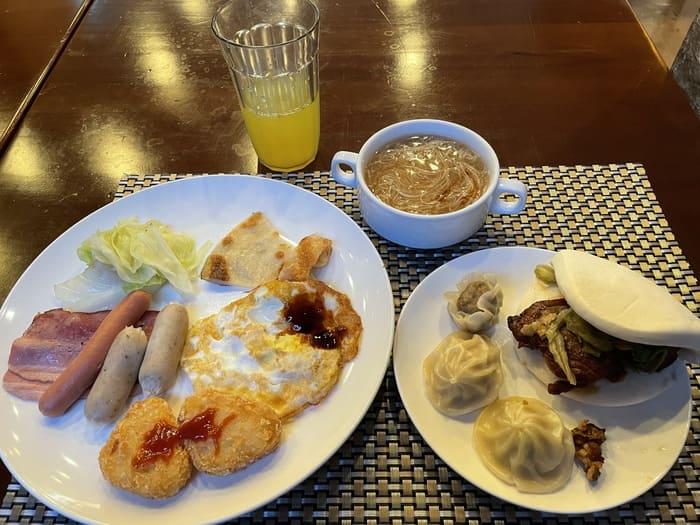 鹿港澄悅商旅Joy inn/彰化鹿港住宿商旅推薦/超好吃早餐麵線肉羹掛包