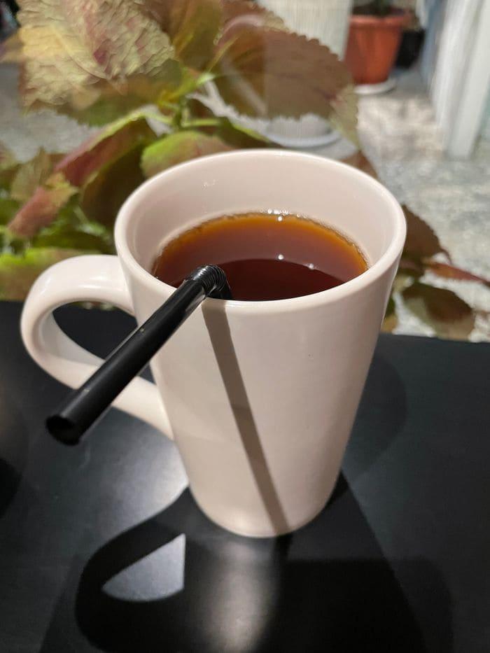 墨村食所MoCun/台中逢甲大學夜市附近咖哩飯推薦/好吃份量大又不貴CP值很高/紅茶blacktea