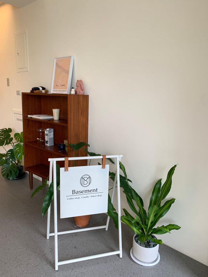 Basement Cafe/新竹韓系質感咖啡館/新竹公道五路推薦早午餐下午茶咖啡廳/店內
