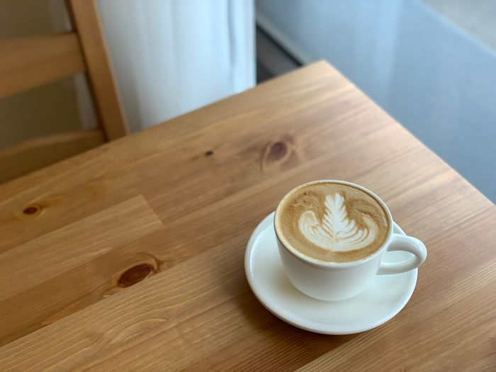 Basement Cafe/新竹韓系質感咖啡館/新竹公道五路推薦早午餐下午茶咖啡廳/鹽之花拿鐵